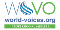 British voiceover artist member of WoVo