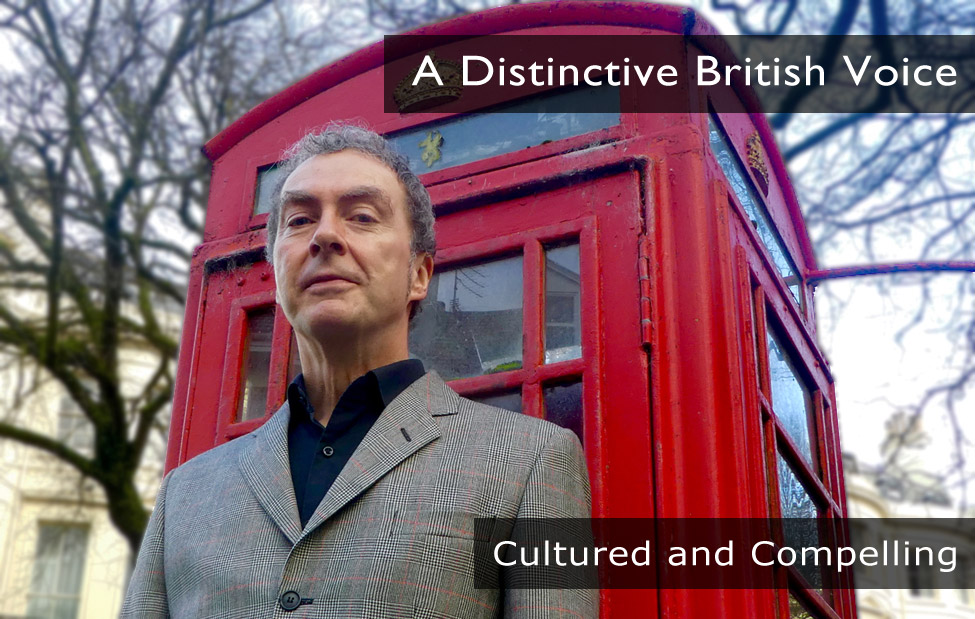 Photo of Tim Bick Voiceover, a distinctive British voice, English voice overs